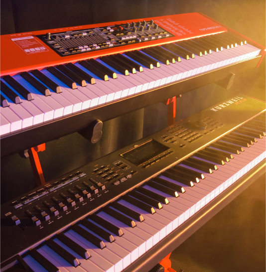 Premium Piano and Keyboard Backline in Reno, NV - JamPro Music Factory